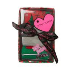 Betsey Johnson Holly Berry Gift Box NWT